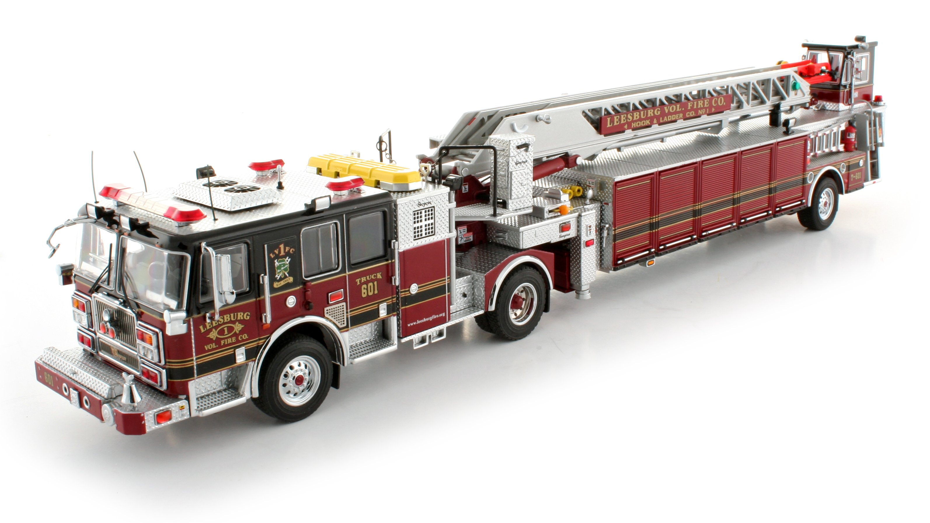 TWH Collectibles Leesburg Volunteer Fire Company Seagrave ... on